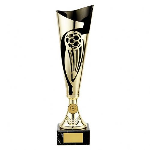 Champions Football Cup Gold & Black 360mm
